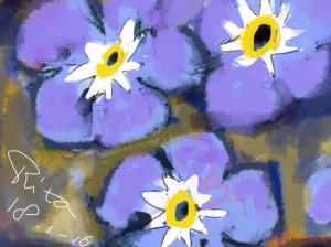 bloem test groot bestand